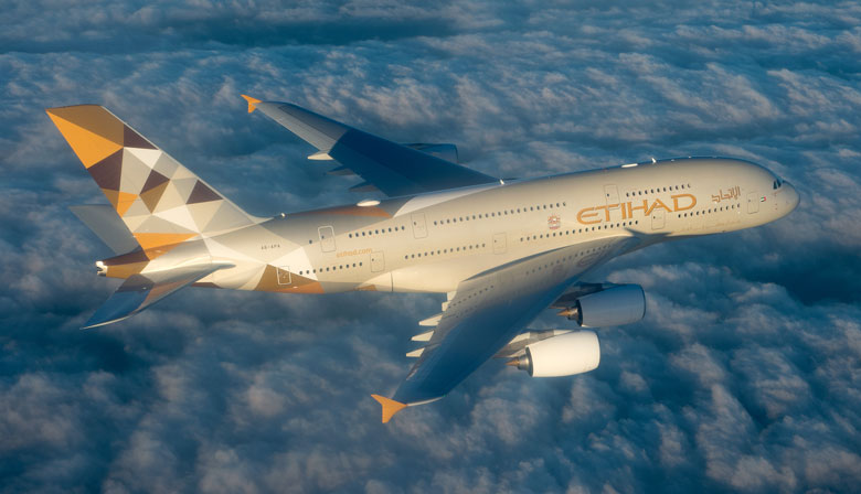 'The Beauty of the sky' - making of Etihad A-380