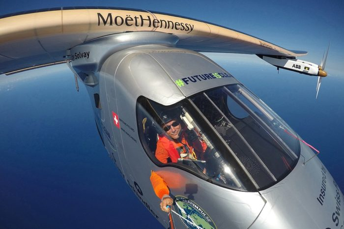 Around the world with Solar Impulse 2