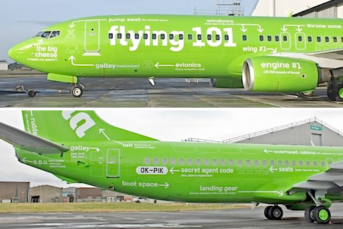 Kulula 'Flying 101' ..!  Definitely you love this airline.
