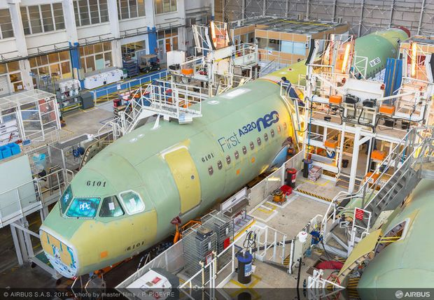 Airbus to boost A320 production to 60 a month in mid-2019