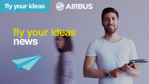 Airbus launches the fifth Fly Your Ideas global student challenge.