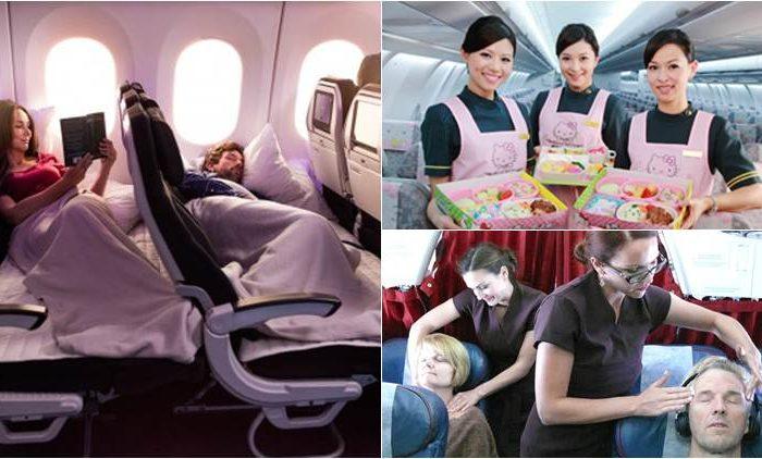 10 Bizarre Airline Services
