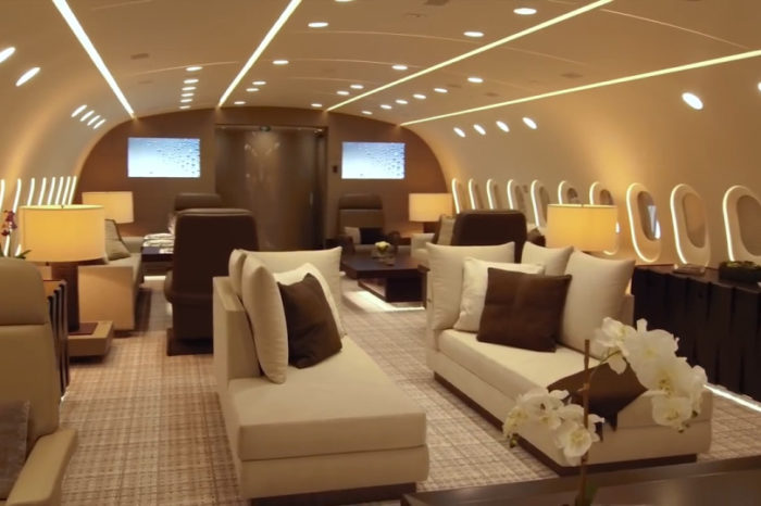 World's best private jet? The Boeing 787 that's an airborne apartment.