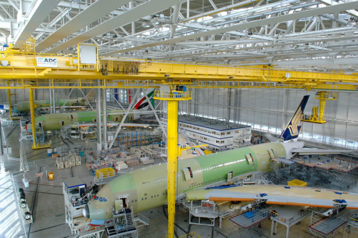 Jetline Marvel: How Do They Manufacture Airbus A380. ?