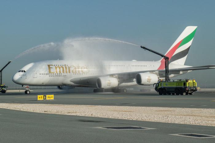 World's shortest A380 flight.