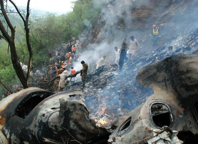 Pakistan: Plane crashes with 40 passengers on board
