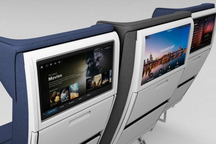 Introducing the Widest Economy Class Seats, with the Widest IFE Screens Ever!