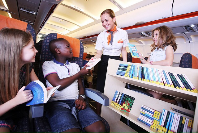 EASYJET'S BOOK CLUB LIFTS OFF  TO GET CHILDREN HOOKED ON A BOOK THIS SUMMER