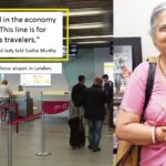 "Infosys chairperson Sudha Murty was called a ""cattle class"" on airport due to her outfits!"