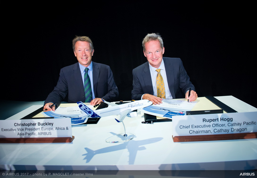 Cathay Pacific Group signs MOU for 32 A321neo aircraft