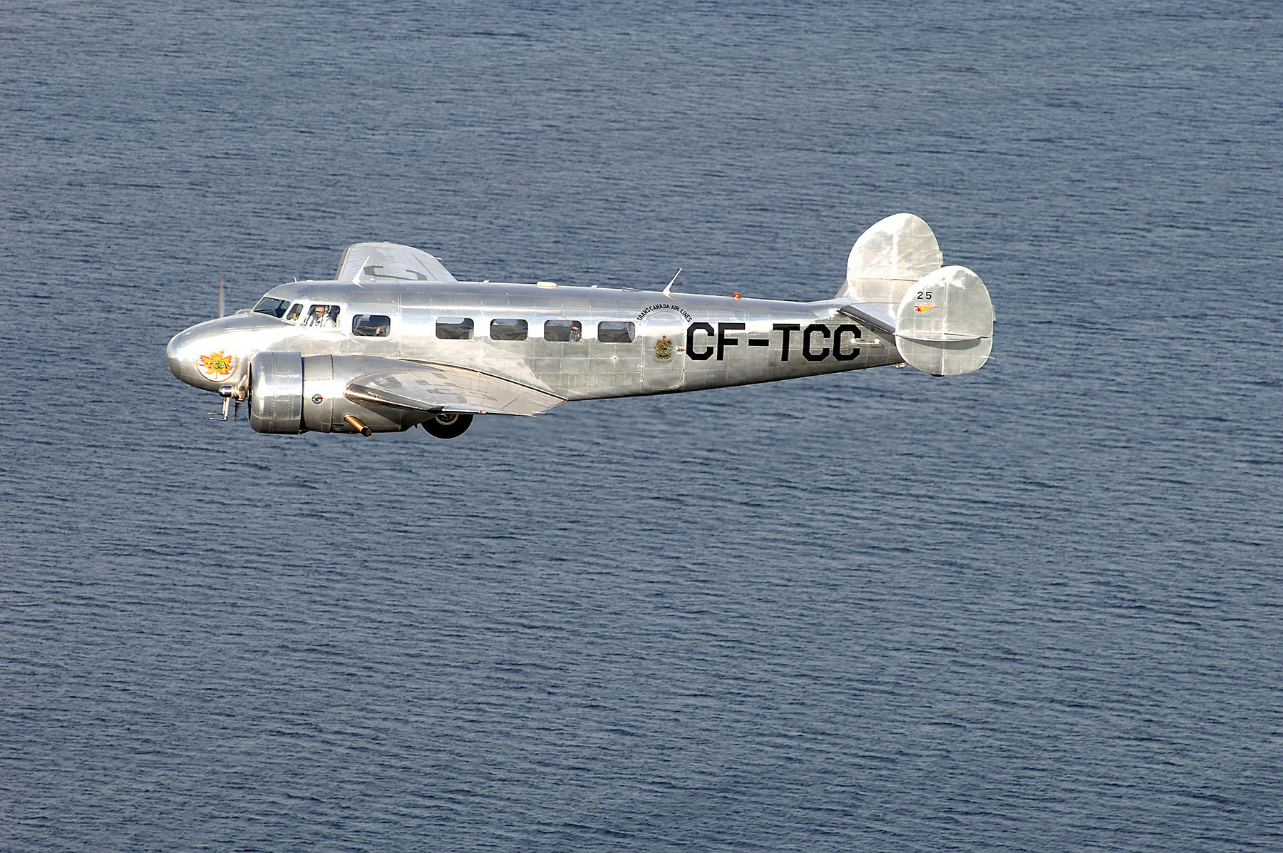 Air Canada's Lockheed 10-A Takes to the Skies to Mark the Airline's 80th