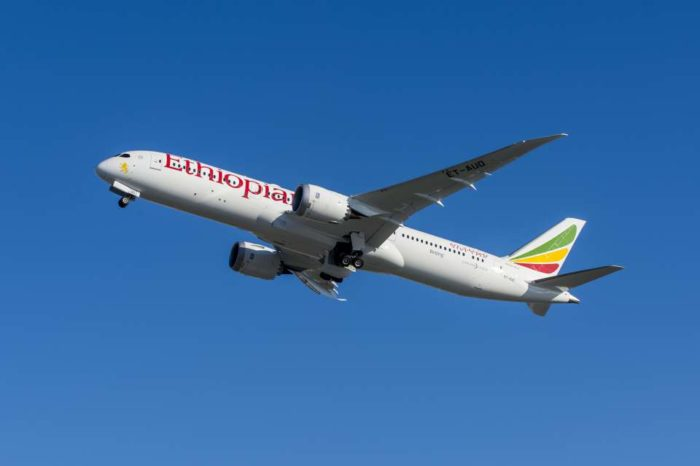Boeing, Ethiopian Airlines Celebrate Delivery of First 787-9 Dreamliner
