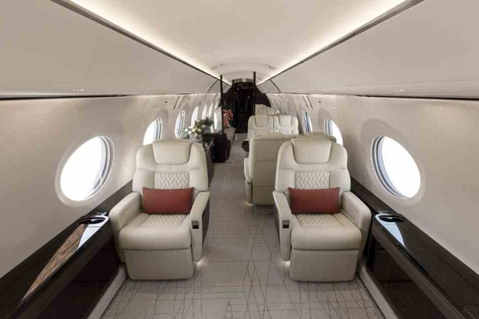Fully outfitted gulfstream G600 makes debut at NBAA-bace