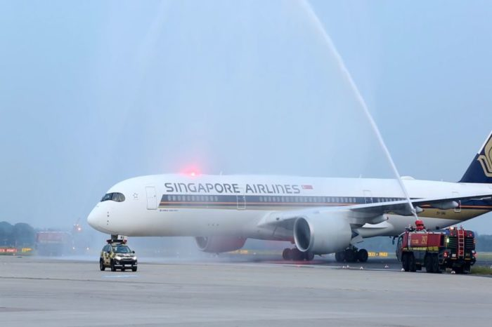Boeing, Singapore Airlines Announce Order for 39 Airplanes