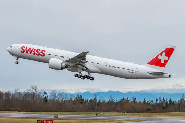 SWISS will fly this winter Boeing 777 for Sao Paulo
