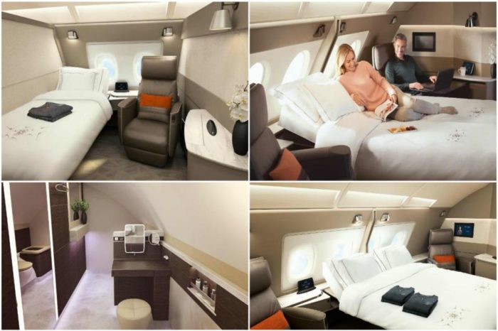 Singapore Airlines just unveiled new luxury suites for its Airbus A380