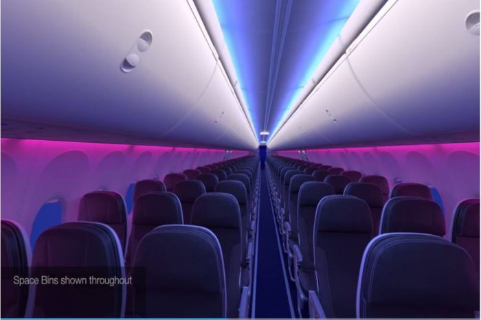 Experience the Boeing 737 MAX Interior.!