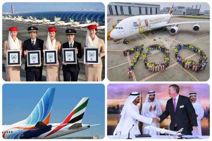 Emirates ends 2017 on a high note reaching fleet and product milestones