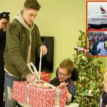 British Airways' Christmas Surprise For A 12 Year Old Boy With Cerebral Palsy.