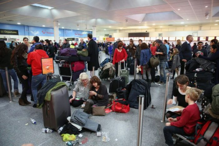 Around 800 passengers have been left stranded at Gatwick airport for 5 days after airline cancels flights