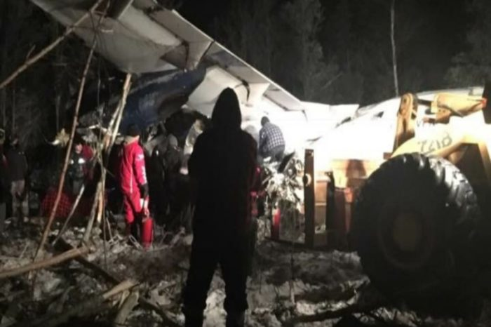 Plane crashes in Saskatchewan with 25 people on board, no fatalities