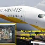 Jetairways crew member held for carrying USD worth Rs 3.21 crore