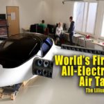 The Lilium : World's first all-electric flying taxi.