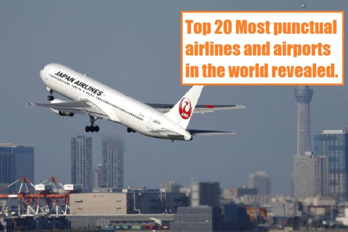 Top 20 Most punctual airlines and airports in the world revealed - 2017-18