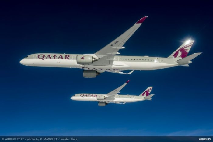 Airbus delivers its first A350-1000 to launch customer Qatar Airways