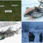 Russian plane crash kills all 71 people on board : Accident footage.