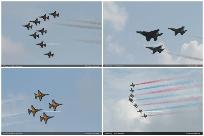 Flying Display : Singapore Airshow 2018 in Pictures