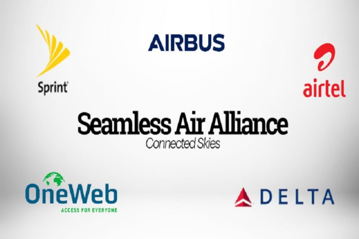 Airbus, Delta, OneWeb, Sprint, Airtel Announce the Formation of Seamless Air Alliance  Enabling Airlines to Empower Passengers with Seamless In-Cabin Connectivity Experience