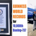 Boeing Recognized by GUINNESS WORLD RECORDS™ for 10,000th 737