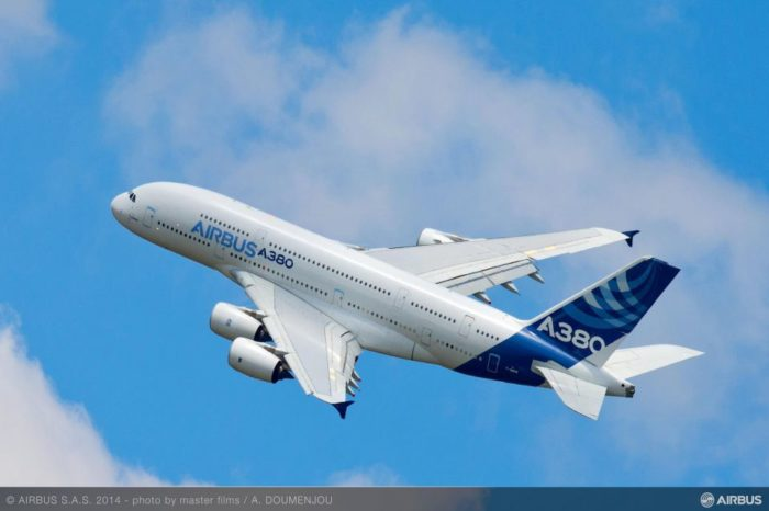 Airbus confirms adjusted production rates for A380 and A400M programmes