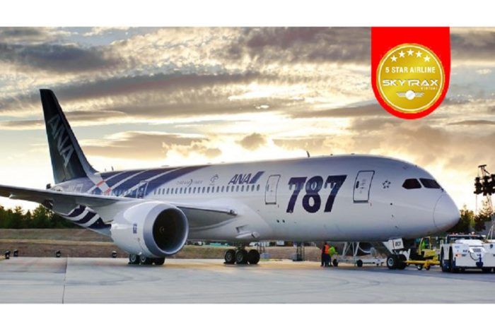 ANA Receives 5-Star Rating from SKYTRAX for Six Consecutive Years