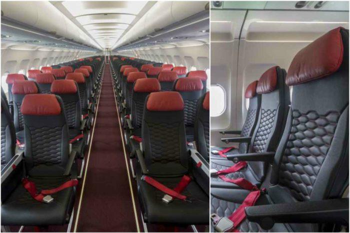 AirAsia debuts new Mirus Hawk slimline seats