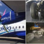 Narrow escape for 77 flyers after IndiGo tyre bursts upon landing