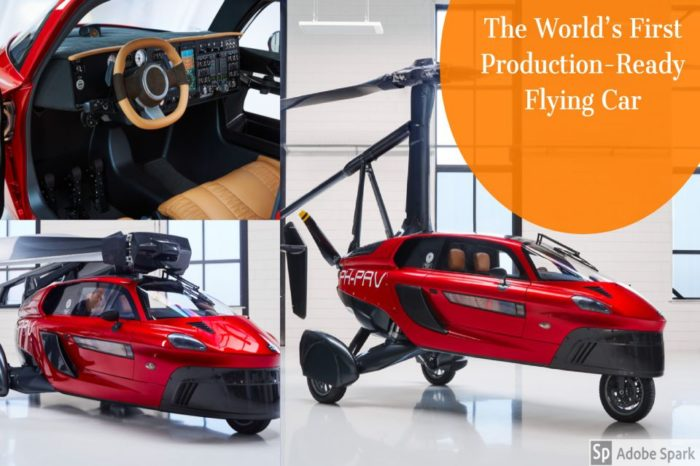 The World's First Production-Ready Flying Car Is Finally Here I PAL -V Liberty