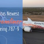 Qantas welcomes home its newest Boeing 787 Dreamliner with Indigenous Livery.
