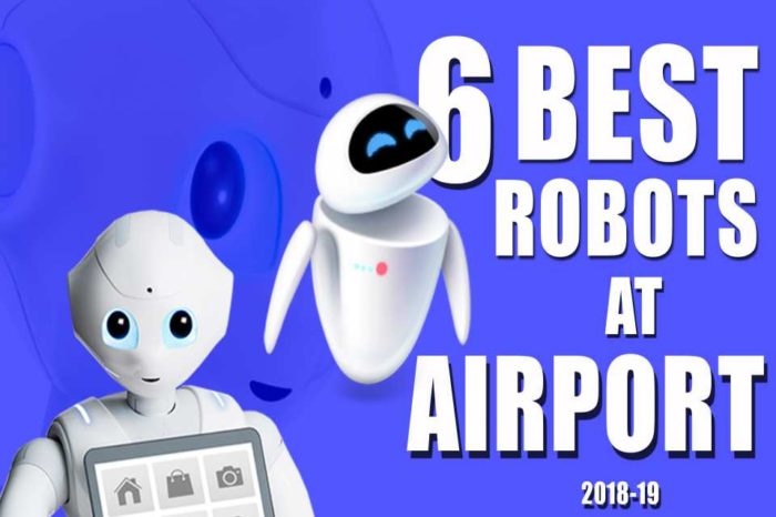 Top 6 Best Robots at Airport 2018 -19 | Spencer | Pepper | LG's Robot | Humanoid Robot |