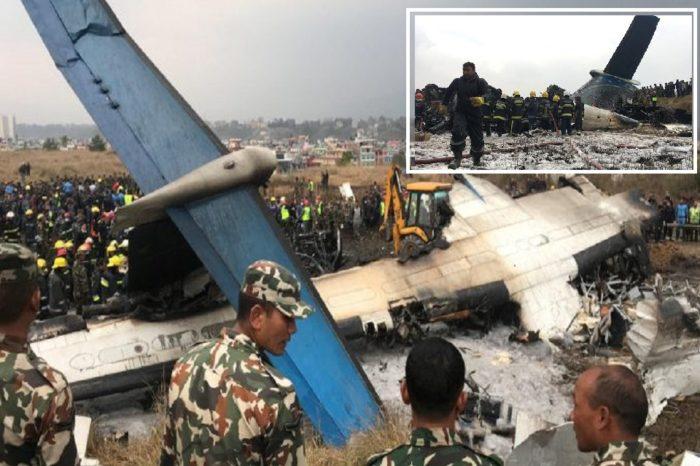 Bangladeshi plane crashes in Nepal, killing at least 50