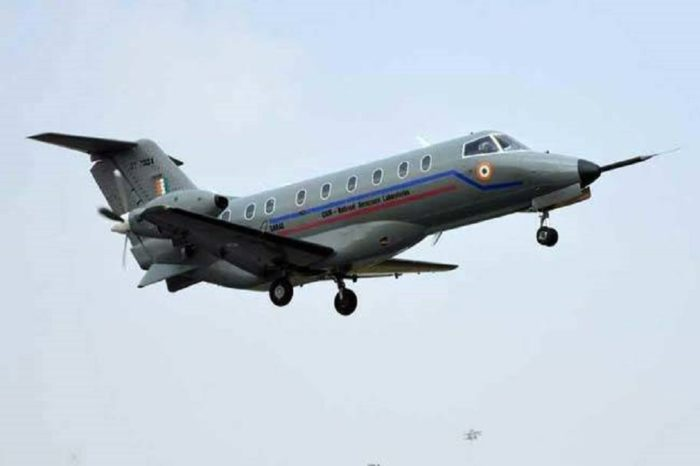 """A closer look at """"Saras"""", India's first home-made passenger plane"""