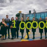 airBaltic Welcomes Millionth Bombardier CS300 Passenger