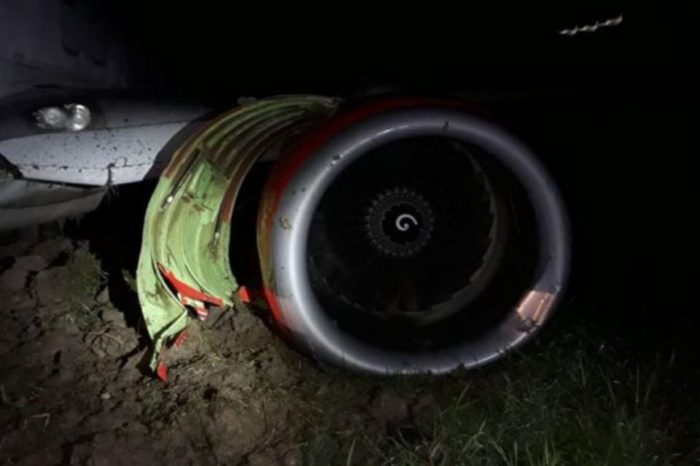Lion Air plane skids off runway Gorontalo airport closed after.