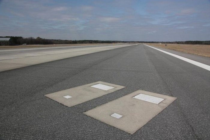 The Incredible Story Behind the Two Gravestones Embedded in the Savannah Airport Runway