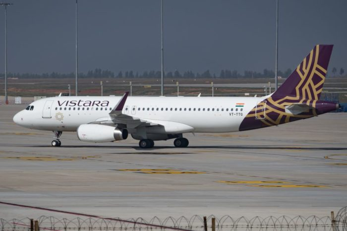 Vistara plans to commence international operations, gets 20th aircraft in its fleet.