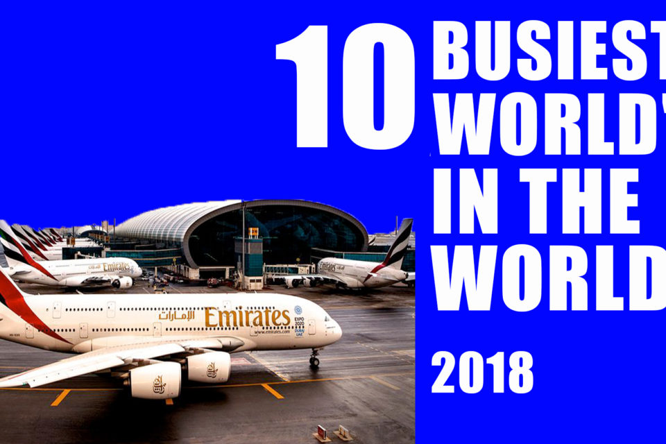 Top 10  world's busiest airport revealed