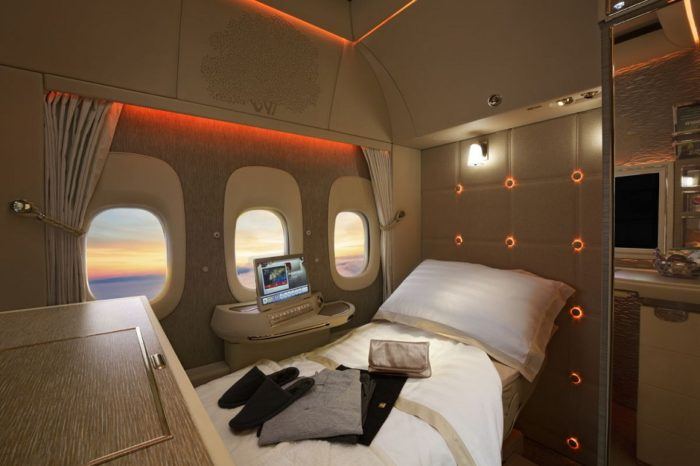 Emirates looks to windowless planes