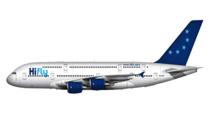 Hi Fly takes delivery of its first Airbus A380