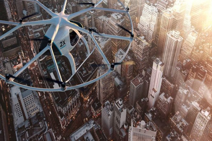 How Volocopter's 'flying taxi' stations will be running by 2028